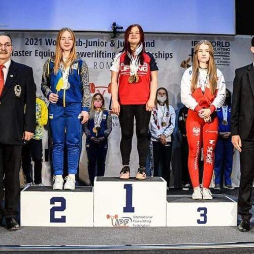 Brązowy medal ełczanki